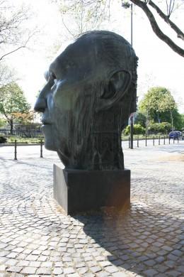 Adenauer Monument in Bonn, by Hubertus von Pilgrim