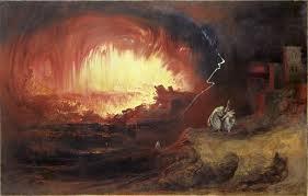 The Destruction of Sodom and Gomorrah by John Martin.