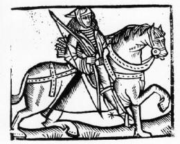 A Woodcut of Robin Hood -1508