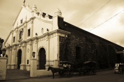 Old Cathedral In Vigan