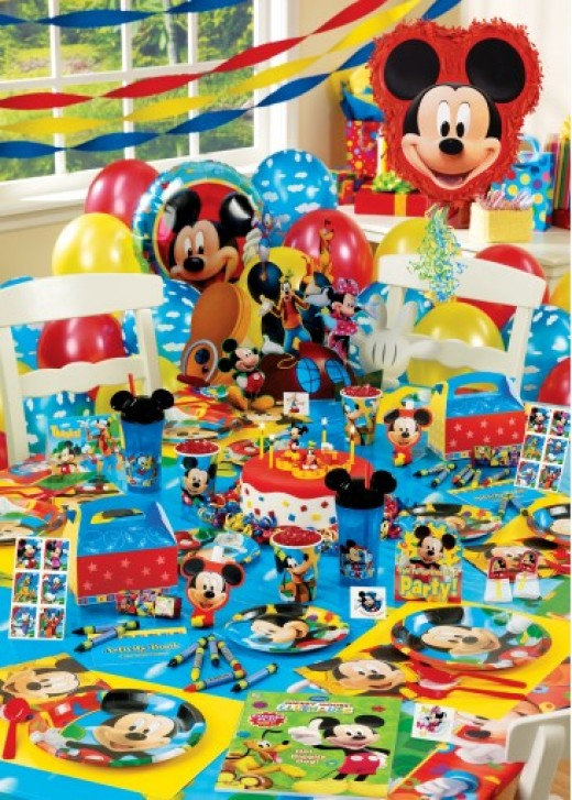 Mickey Mouse Clubhouse Party Supplies