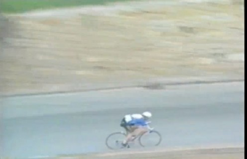 Sean Kelly descending del Poggio.