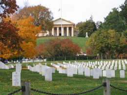 Arlington National Cemetery and Lee's Former Home