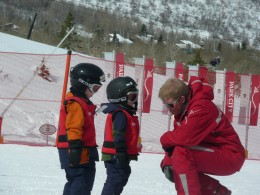 Park City Ski Instructor with Signature 3 Students