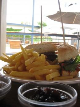Potshot Burger at the Potshot hotel Exmouth WA
