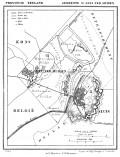 1865 map showing Sint Anna ter Muiden