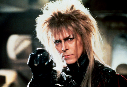 Contrary to popular belief David Bowie is not the Goblin King