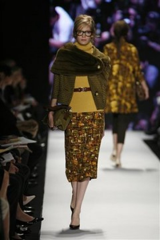 mustard fashion  photo credit Michael Kors/AP via blog.oregonlive.com