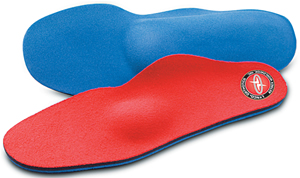 Lynco L405 insoles with metatarsal pads for support