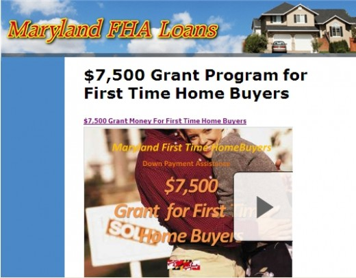 7500 first time home buyers for First time home buyers plan