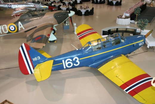 Fairchild PT-19 in Norwegian markings