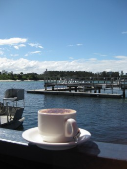 A good coffee with a nice view needs promoting !
