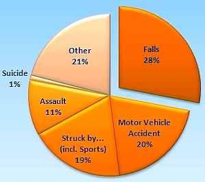 Major Causes of Head Injuries