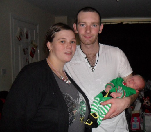 Rebecca, Craig and Callum, my beautiful babies