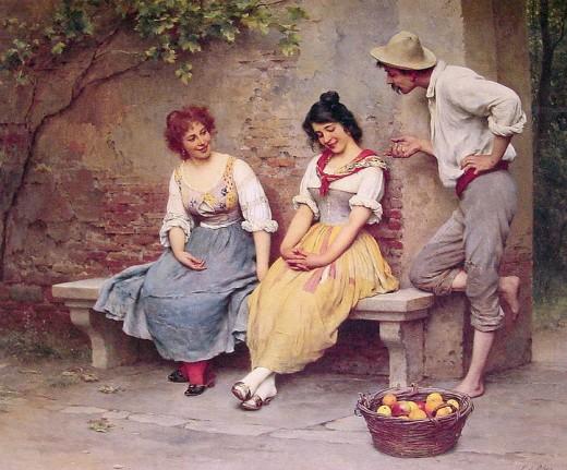 The Flirtation (Le flirt); 1904