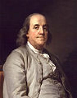Benjamin Franklin portrait by  duplesrs