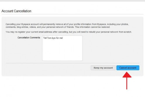 """And one more attempt to talk you out of it...go ahead and click """"Cancel Account"""" (yet again)."""