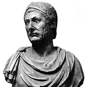 There are no real images known of Hannibal Barca, this bust is one of the many creations which bear the name of the famous Carthaginian leader.