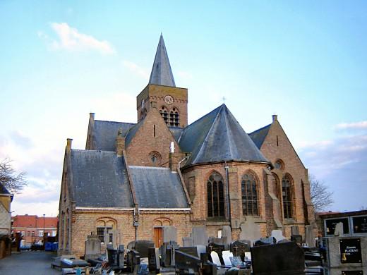 St Peter and St Paul church, Ploegsteert