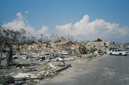 The devastation of Hurricane Katrina