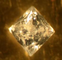 Beta quartz crystal.