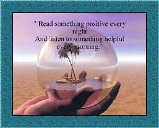 The power of positive thinking sayings quotes and tips