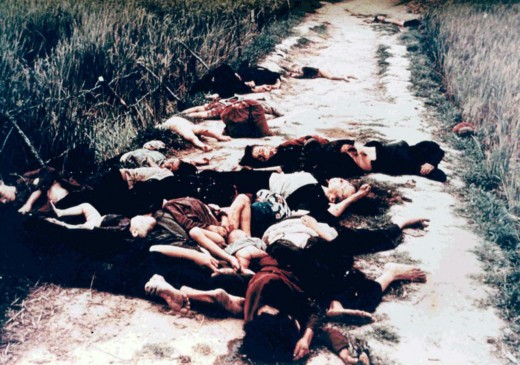 MY LAI MASSACRE COMMITTED BY U.S. TROOPS IN 1968