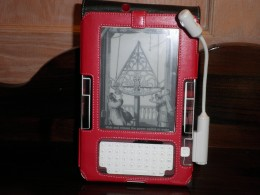 One of the covers I had for my Kindle 2