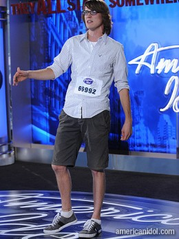Scott Dangerfield - American Idol 2011 - Milwaukee Auditions