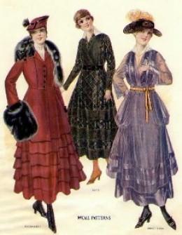 women s clothes   1911