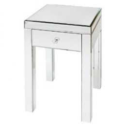 """Glass Accent Table - 25.25"""""""