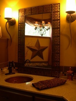 Bathroom Plans on Southwestern Mexican Rustic Home Decorating Ideas For The Bathroom