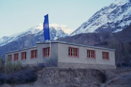 The first Central Asia Institute elementary school built in Korphe, Northern Pakistan.