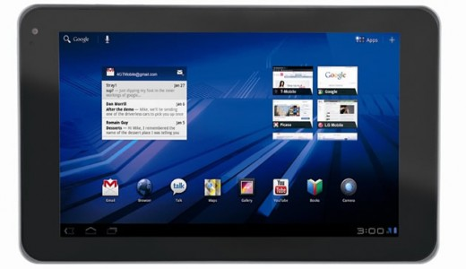 LG Optimus Tab (called the G-Slate via T-Mobile)