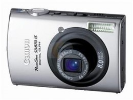 My Canon Point and Shoot Digital Camera