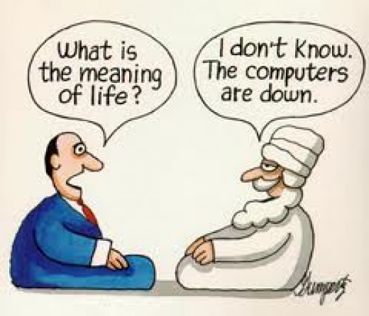 Everyone is in search of the meaning of LIFE..