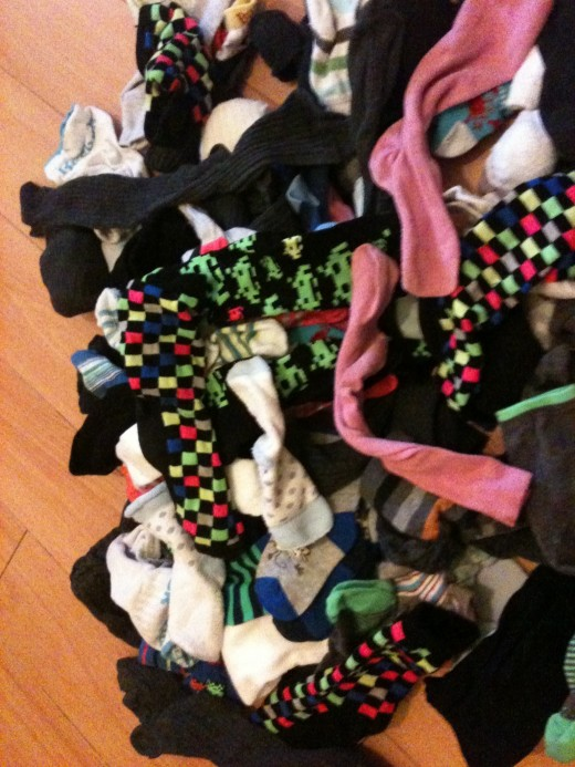 Socks everywhere