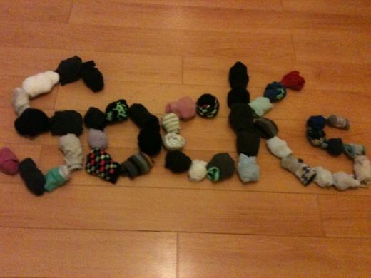 Socks love