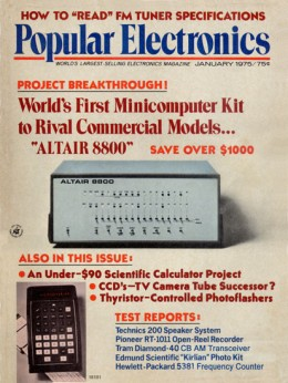 Popular Electronics Magazine January 1974 Cover