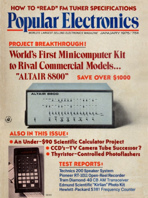 Popular Electronics Magazine January 1974 Cover