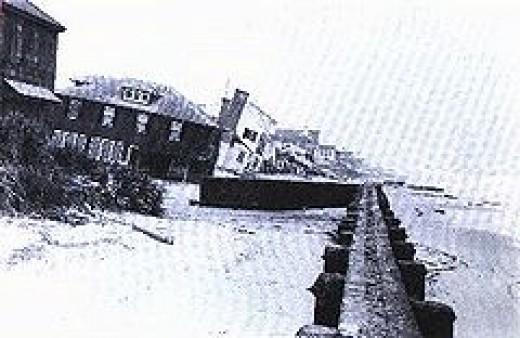 VIRGINIA BEACH STORM,  ASH WEDNESDAY FLOOD DAMAGE