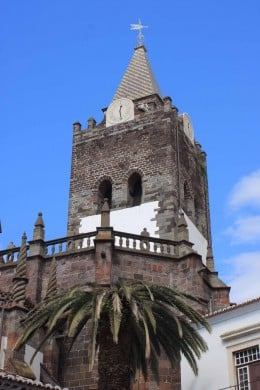 Funchal Cathedral stands in the town centre, and dates from the late 15th century