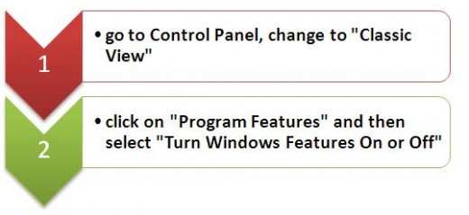 Turn off Vista Features