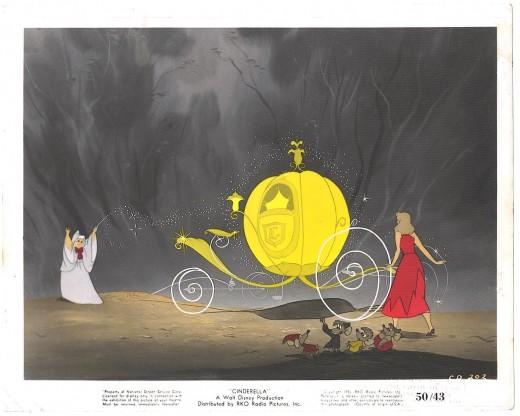 Walt Disney's Cinderella Lobby Card 1950
