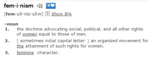 Define misogyny opposite