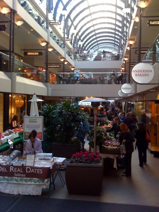 Crocker galleria farmers market