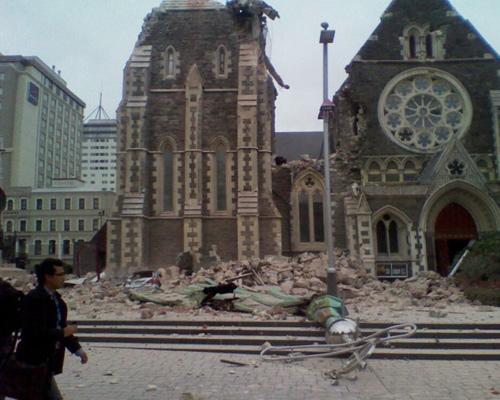 Christchurch quake February 22nd 2011