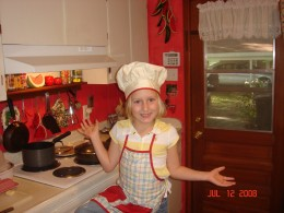 Our Little Chef - Ashley