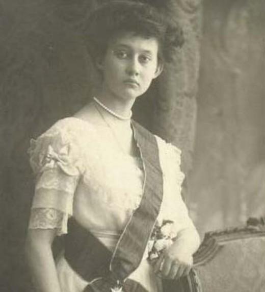 Luxembourg's Grand Duchess Marie-Adelaide.
