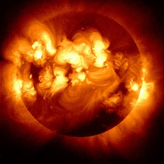 Solar Flare activity